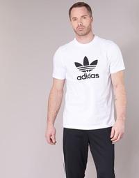 tekstylia Męskie T-shirty z krótkim rękawem adidas Originals TREFOIL T-SHIRT Biały