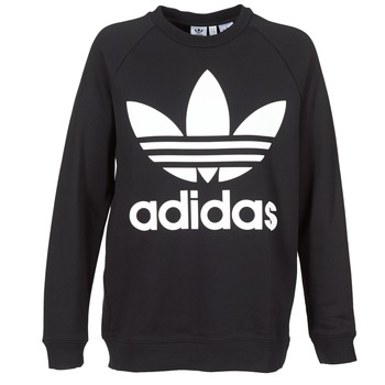 tekstylia Damskie Bluzy adidas Originals OVERSIZED SWEAT Czarny