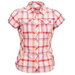 tekstylia Damskie Koszule z krótkim rękawem Columbia CAMP HENRY Wielokolorowe