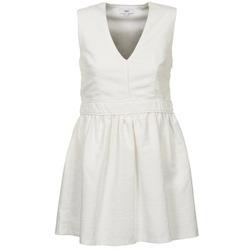 tekstylia Damskie Sukienki krótkie Suncoo CAGLIARI Biały