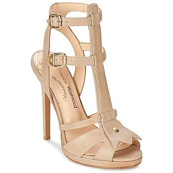 Buty Damskie Sandały Vivienne Westwood CAVIL Beżowy