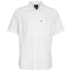 tekstylia Męskie Koszule z krótkim rękawem Quiksilver EVERYDAY SOLID SS Biały