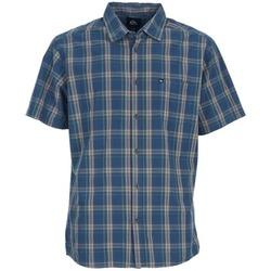 tekstylia Męskie Koszule z krótkim rękawem Quiksilver EVERYDAY CHECK SS Niebieski