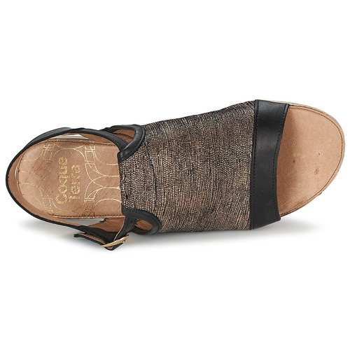 Coqueterra Craft Czarny - Bezpłatna Dostawa- Buty Sandały Damskie 21950 Najniższa Cena