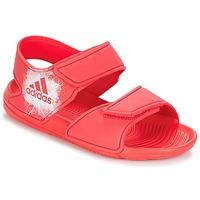 Buty Dziewczynka Sandały adidas Performance ALTASWIM C Różowy