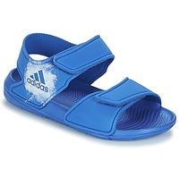 Buty Dziecko Sandały adidas Originals ALTASWIM C Niebieski