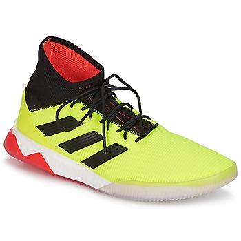 Buty Męskie Piłka nożna adidas Performance PREDATOR TANGO 18.1 TR Żółty / Czarny / Czerwony