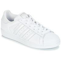 Buty Damskie Trampki niskie adidas Originals SUPERSTAR W Biały / Srebrny