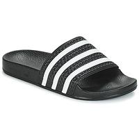 Buty klapki adidas Originals ADILETTE Czarny / Biały