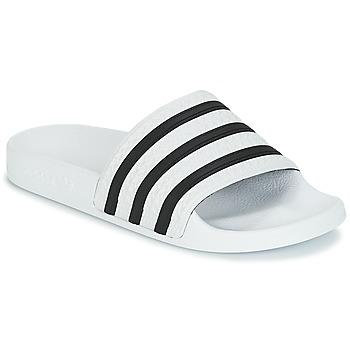 Buty klapki adidas Originals ADILETTE Biały / Czarny
