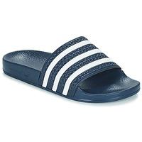 Buty klapki adidas Originals ADILETTE Marine / Biały