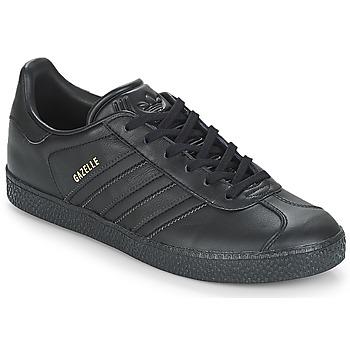 Buty Dziecko Trampki niskie adidas Originals GAZELLE J Czarny