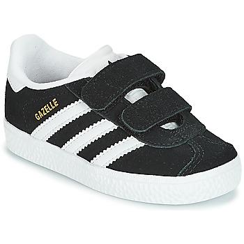 Buty Dziecko Trampki niskie adidas Originals GAZELLE CF I Czarny