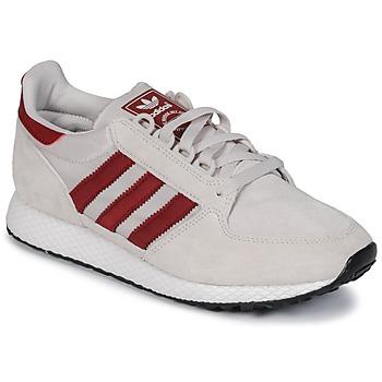 Buty Trampki niskie adidas Originals OREGON Beżowy / Czerwony