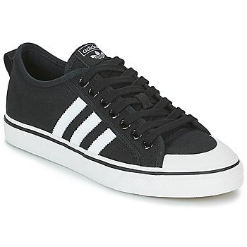 Buty Trampki niskie adidas Originals NIZZA Czarny / Biały