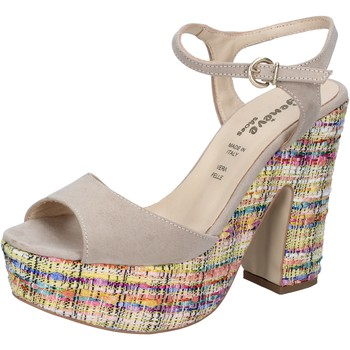 Buty Damskie Sandały Geneve Shoes BZ890 Beżowy