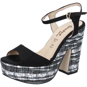 Buty Damskie Sandały Geneve Shoes BZ893 Czarny