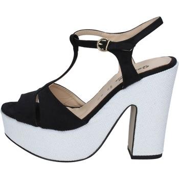 Buty Damskie Sandały Geneve Shoes BZ897 Czarny
