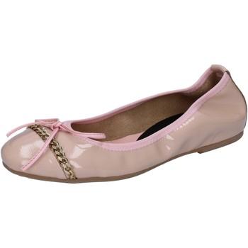 Buty Damskie Baleriny Crown ballerine rosa cipria vernice BZ941 Rosa