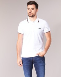 tekstylia Męskie Koszulki polo z krótkim rękawem Diesel T RANDY BROKEN Biały