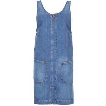 tekstylia Damskie Sukienki krótkie Diesel DE DATY Niebieski
