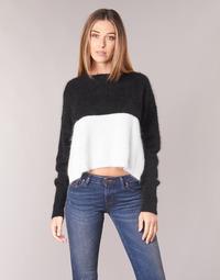 tekstylia Damskie Swetry Diesel M AIRY Czarny / Biały