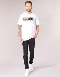 tekstylia Męskie Jeansy skinny Diesel SLEENKER Czarny