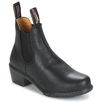 Buty Damskie Buty za kostkę Blundstone WOMEN'S HEEL BOOT Czarny