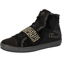 Buty Damskie Trampki wysokie Guardiani Sneakersy AE827 Czarny