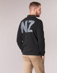 tekstylia Męskie Koszulki polo z długim rękawem Serge Blanco POLO NEW ZEALAND Czarny