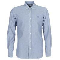 tekstylia Męskie Koszule z długim rękawem Serge Blanco 15 DOS Niebieski