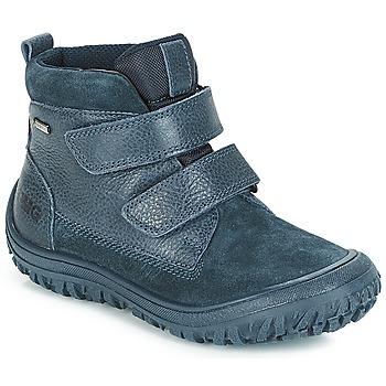 Buty Chłopiec Buty za kostkę Primigi POG 24371 GORE-TEX Niebieski