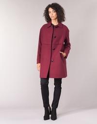 tekstylia Damskie Płaszcze Sisley FAREDA Bordeaux