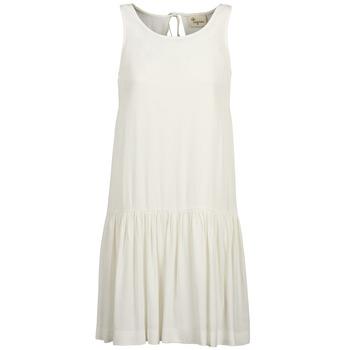 tekstylia Damskie Sukienki krótkie Stella Forest DELFINEZ ECRU