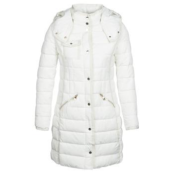 tekstylia Damskie Kurtki pikowane Desigual INGA Biały