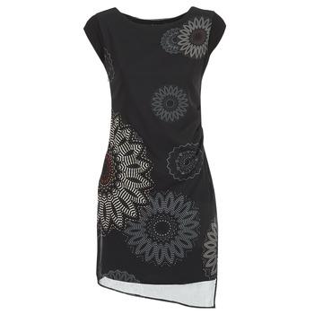 tekstylia Damskie Sukienki krótkie Desigual SANDRINI Czarny
