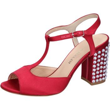 Buty Damskie Sandały Lella Baldi Sandały AH826 Czerwony