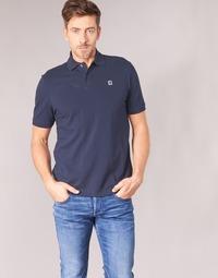 tekstylia Męskie Koszulki polo z krótkim rękawem G-Star Raw DUNDA POLO Marine
