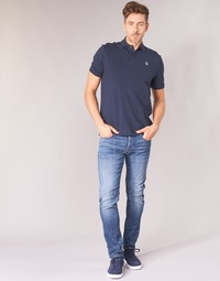 tekstylia Męskie Jeansy slim fit G-Star Raw D-STAQ 5-PKT SLIM Niebieski / Medium / Indigo