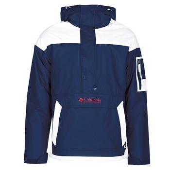 tekstylia Męskie Kurtki krótkie Columbia CHALLENGER PULLOVER Marine / Biały