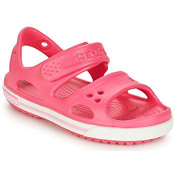 Buty Dziewczynka Sandały Crocs CROCBAND II SANDAL PS Różowy