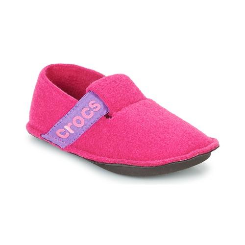 Buty Dziewczynka Obuwie domowe Crocs CLASSIC SLIPPER K Różowy