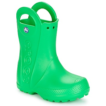 Buty Dziecko Kalosze Crocs HANDLE IT RAIN BOOT KIDS Zielony