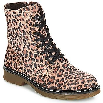 Buty Dziewczynka Buty za kostkę Bullboxer LANA Leopard