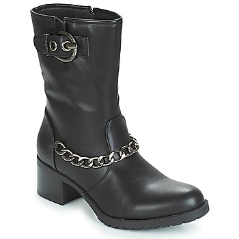 Buty Damskie Botki LPB Shoes LOANNE Czarny