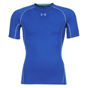 tekstylia Męskie T-shirty z krótkim rękawem Under Armour UA HG ARMOUR SS COMPRESSION Niebieski