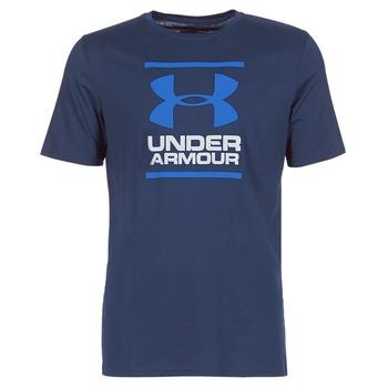 tekstylia Męskie T-shirty z krótkim rękawem Under Armour UA GL FOUNDATION SS T Marine