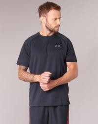 tekstylia Męskie T-shirty z krótkim rękawem Under Armour UA TECH SS TEE Czarny