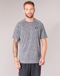 tekstylia Męskie T-shirty z krótkim rękawem Under Armour UA TECH SS TEE Szary