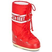 Buty Śniegowce Moon Boot NYLON Czerwony